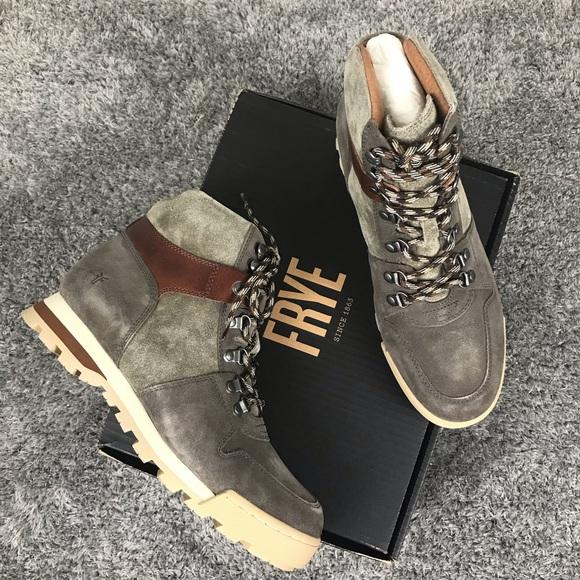 b9b25cbf9ee Frye Men's Summit Hiker Boots Suede Leather NWT